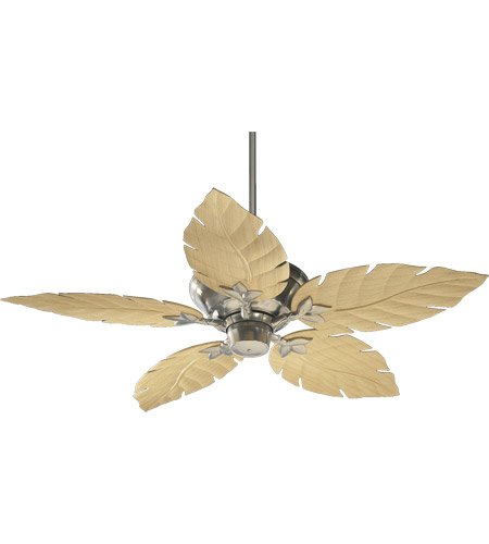 Quorum 135525 65 monaco 52 inch satin nickel with maple blades quorum 135525 65 monaco 52 inch satin nickel with maple blades outdoor ceiling fan mozeypictures Choice Image
