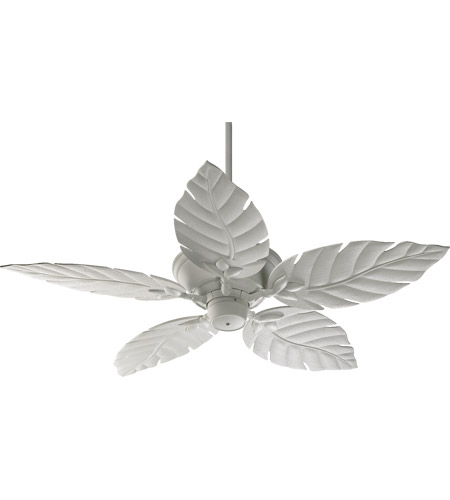 Quorum 135525-8 Monaco 52 inch Studio White Outdoor Ceiling Fan photo