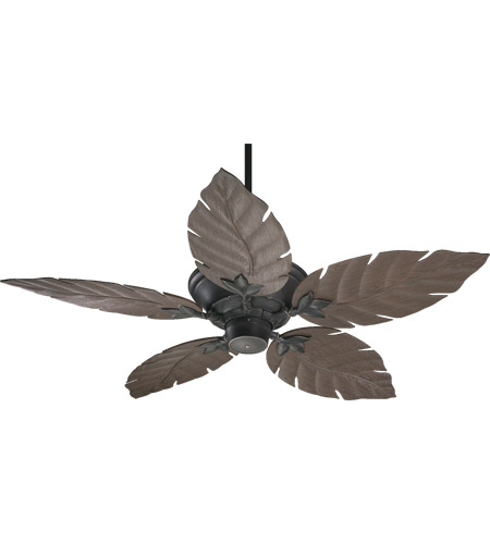 Quorum 135525-95 Monaco Old World with Walnut Blades Outdoor Ceiling Fan photo
