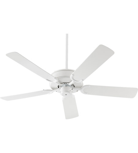 Quorum 136525 6 Allure Patio 52 Inch White Outdoor Ceiling Fan
