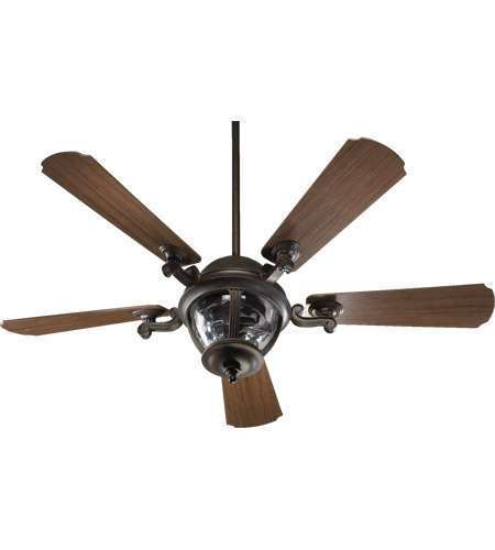 Quorum 142525-945 Westbrook 52 inch Baltic Granite with Walnut Blades Outdoor Ceiling Fan photo