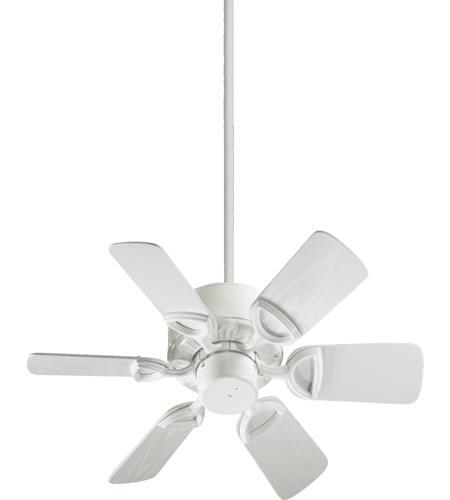 Quorum 143306 6 Estate Patio 30 Inch White Outdoor Ceiling Fan Photo