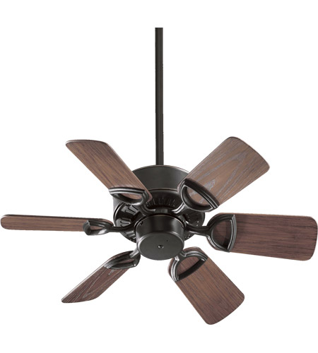 Quorum 143306-95 Estate Patio 30 inch Old World with Walnut Blades Outdoor Ceiling Fan photo