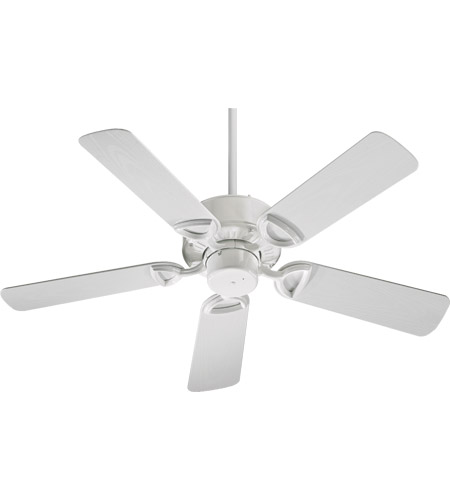 Quorum 143425-6 Estate Patio 42 inch White Outdoor Ceiling Fan  photo