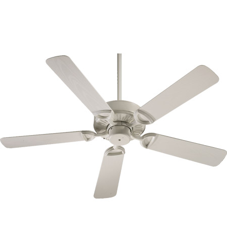Quorum 143525-67 Estate Patio 52 inch Antique White Outdoor Ceiling Fan in Light Kit Not Included photo