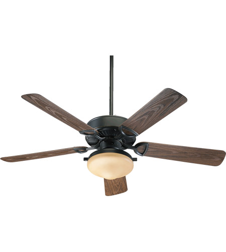 Quorum 1435259395 Estate Patio 52 inch Old World with Walnut Blades Outdoor Ceiling Fan photo