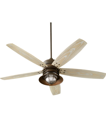 Ceiling fan 990209 portico 120 quorum 14605 86
