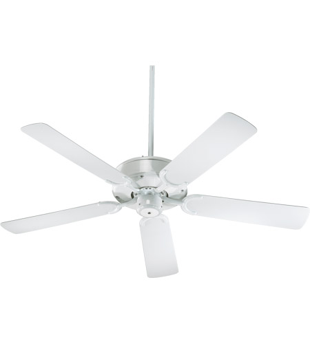 All Weather Allure 52 Inch White Outdoor Ceiling Fan