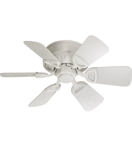Quorum 151306 8 medallion patio 30 inch studio white with white quorum 151306 8 medallion patio 30 inch studio white with white blades outdoor ceiling fan aloadofball Image collections