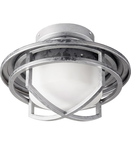 Quorum 1904-9 Windmill LED Galvanized Light Kit  photo