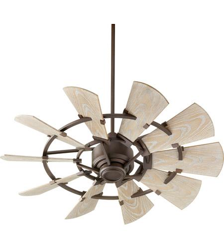Quorum 194410 86 Windmill 44 Inch Oiled