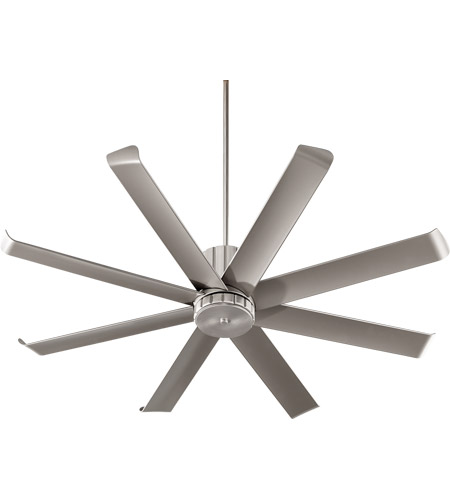 Quorum 196608-65 Proxima Patio 60 inch Satin Nickel Patio Fan photo