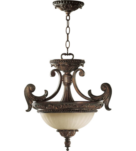 Quorum 2230-18-88 Madeleine 2 Light 18 inch Corsican Gold Dual Mount Ceiling Light photo