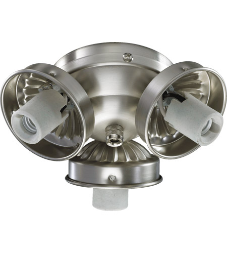 Quorum 2303 9065 Signature 3 Light Satin Nickel Fan Light Kit