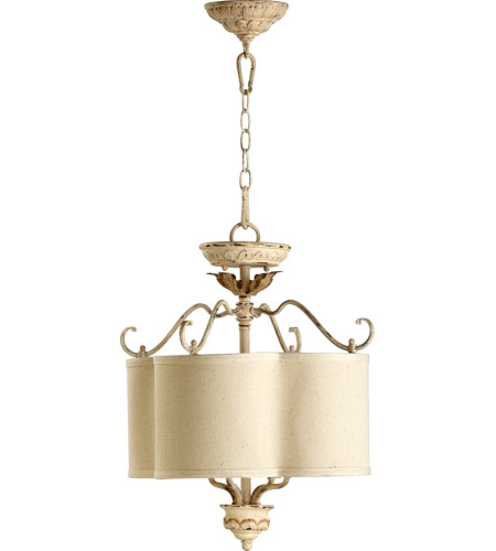 Quorum 2706-18-70 Salento 4 Light 18 inch Persian White Dual Mount Ceiling Light photo