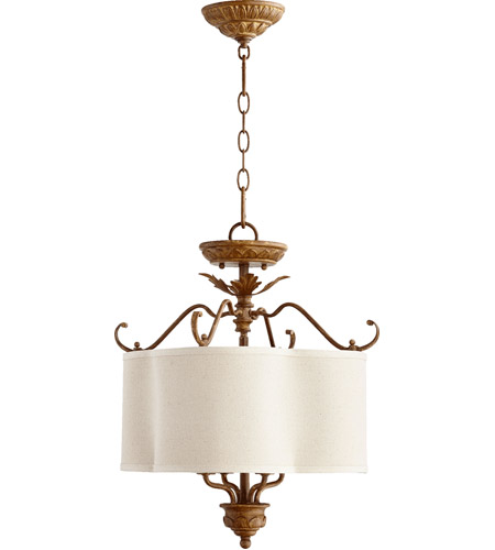 Quorum 2706-18-94 Salento 4 Light 18 inch French Umber Dual Mount Ceiling Light photo