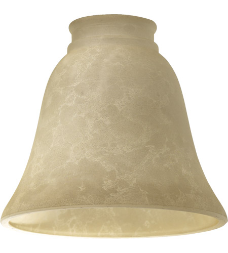 Quorum 2812E Signature Cream Mottled Scavo 6 inch Glass Shade photo