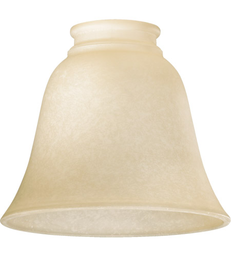 Quorum 2840 Signature Amber Scavo 6 inch Glass Shade photo