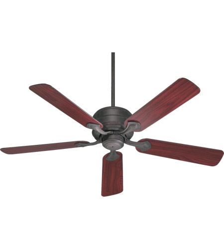 Quorum 29525-44 Hanover 52 inch Toasted Sienna with Rosewood Blades Ceiling Fan photo