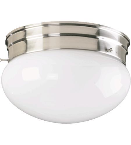 Quorum 3015 8 65 Signature 2 Light 10 Inch Satin Nickel Flush Mount Ceiling