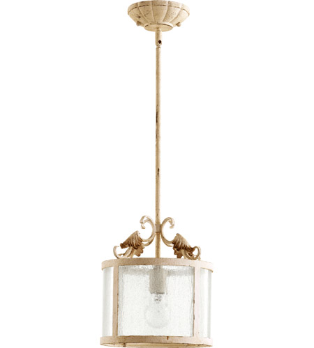 Quorum 3037-70 Florence 1 Light 11 inch Persian White Pendant Ceiling Light photo