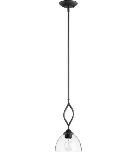 Quorum 3050-69 Brooks 1 Light 7 inch Noir Mini Pendant Ceiling Light photo