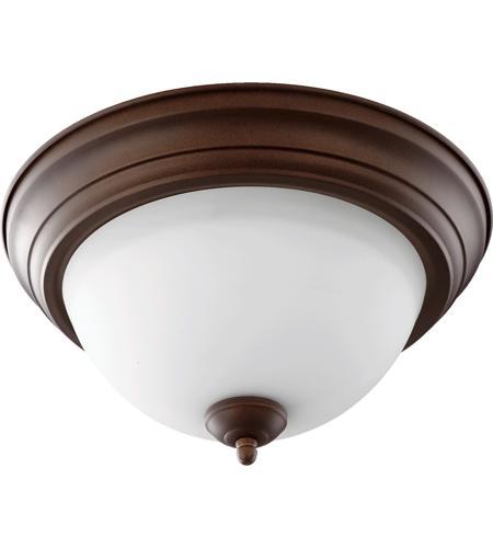 signature 2 light 14 inch oiled bronze flush mount ceiling l