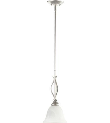 Quorum 3110-64 Spencer 1 Light 8 Inch Classic Nickel