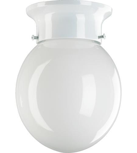 Quorum 3308 6 6 signature 1 light 6 inch white flush mount ceiling light aloadofball Images