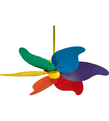 Quorum international pinwheel ceiling fan in yellow with assort quorum international pinwheel ceiling fan in yellow with assort primary blades 33466 99 aloadofball Image collections