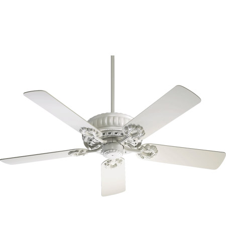 Quorum 35525-8 Empress 52 inch Studio White Ceiling Fan photo