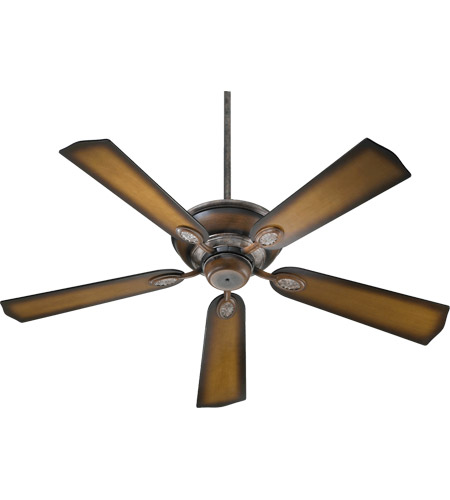 Quorum 38525-58 Kingsley 52 inch Mystic Silver with Reversible Mystic Silver and Pecan Blades Ceiling Fan in Mystic Silver With Pecan photo