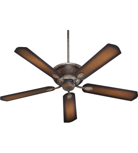Quorum 38605-58 Kingsley 60 inch Mystic Silver with Reversible Mystic Silver and Pecan Blades Ceiling Fan in Mystic Silver With Pecan photo