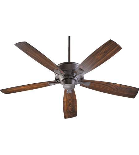 Quorum 42605-44 Alton 60 inch Toasted Sienna with Toasted Sienna and Walnut Blades Ceiling Fan  photo
