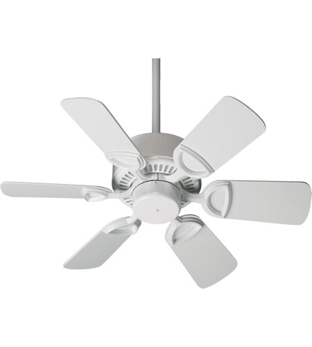 Estate 30 Inch White Ceiling Fan 492381 120 Quorum 43306 6