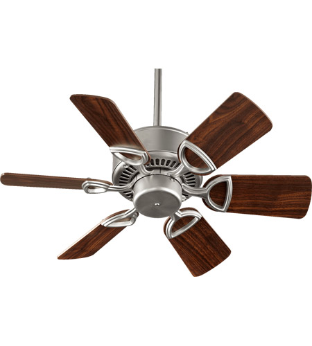 Quorum 43306 65 Estate 30 Inch Satin Nickel Ceiling Fan