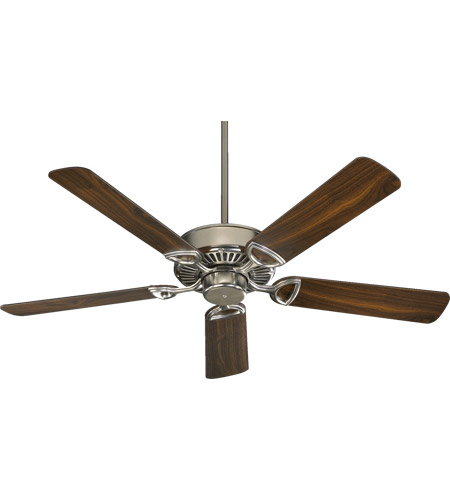 Quorum 43525 65 estate 52 inch satin nickel ceiling fan aloadofball Choice Image