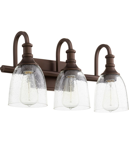 Quorum 5011 3 186 Richmond 3 Light 20 Inch Oiled Bronze