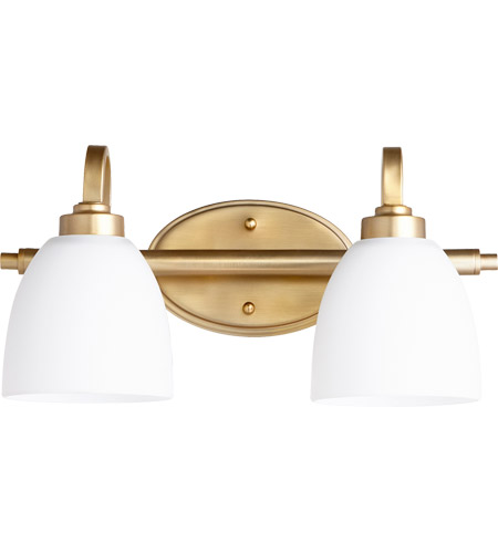 Quorum 5060 2 180 reyes 2 light 16 inch aged brass vanity light wall quorum 5060 2 180 reyes 2 light 16 inch aged brass vanity light wall light aloadofball Image collections