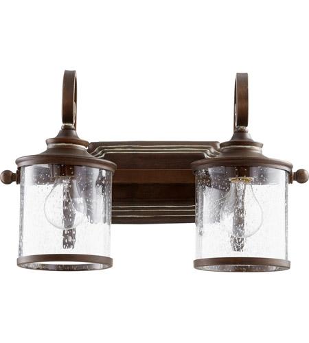 Quorum 5073 2 39 San Miguel 18 Inch Vintage Copper Vanity