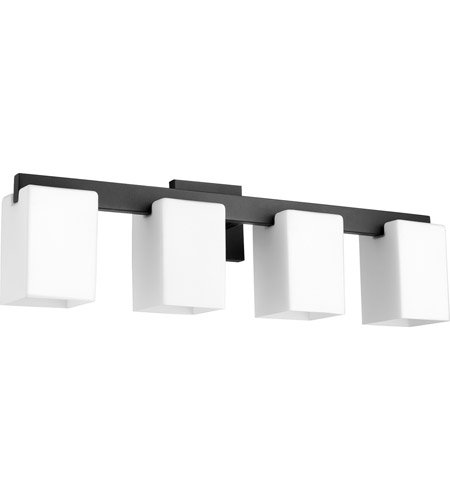 Quorum 5076-4-69 Modus 4 Light 28 inch Noir Vanity Light Wall Light photo