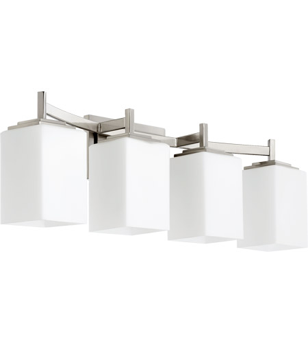 Merveilleux Quorum 5084 4 65 Delta 4 Light 28 Inch Satin Nickel Vanity Light Wall Light