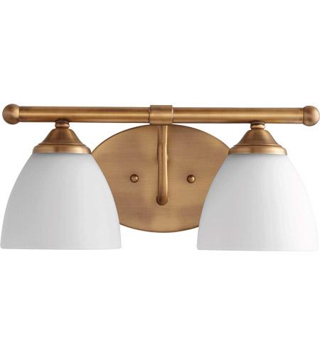 Quorum 5150-2-80 Brooks 15 inch Oiled Bronze Vanity Wall Light in ...