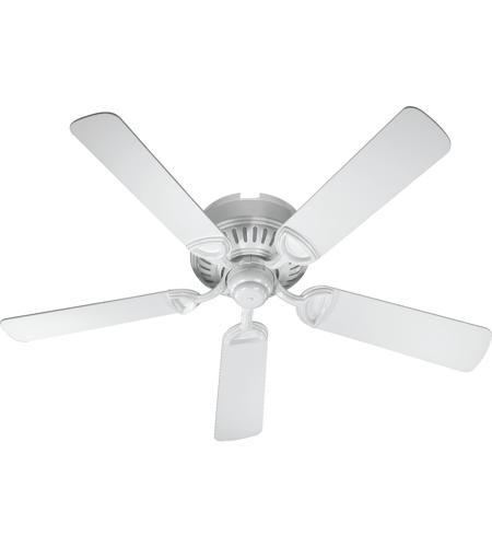 Quorum 51525 6 Medallion 52 Inch White Ceiling Fan Photo
