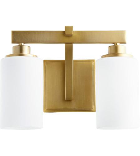 Quorum 5207 2 80 lancaster 2 light 13 inch aged brass vanity light quorum 5207 2 80 lancaster 2 light 13 inch aged brass vanity light wall light aloadofball Image collections