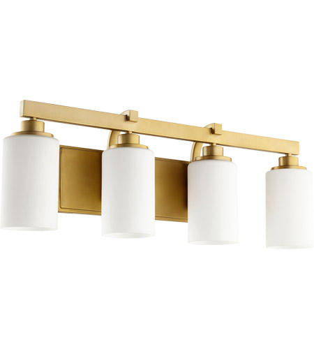 Quorum 5207 4 80 Lancaster 4 Light 28 Inch Aged Brass