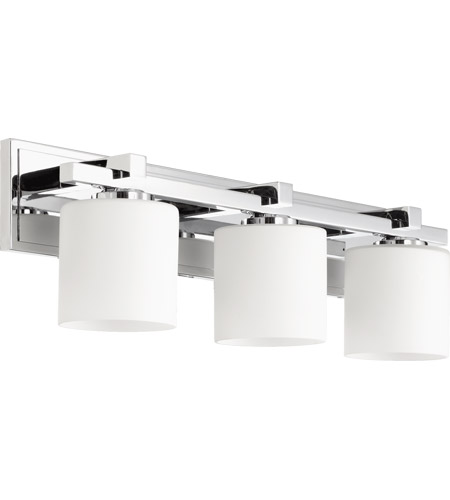 Quorum 5369 3 14 Signature Light 24 Inch Chrome Vanity Wall
