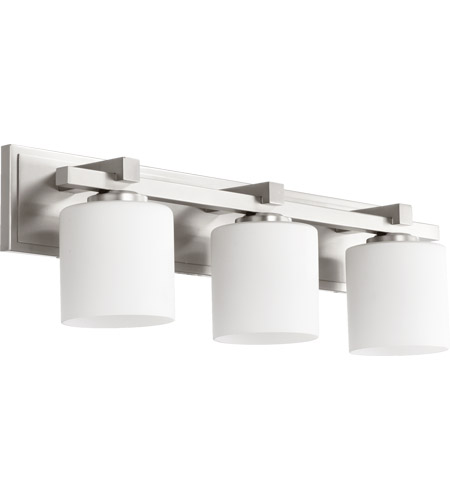 Quorum 5369 3 65 signature 3 light 24 inch satin nickel vanity light quorum 5369 3 65 signature 3 light 24 inch satin nickel vanity light wall light aloadofball Gallery