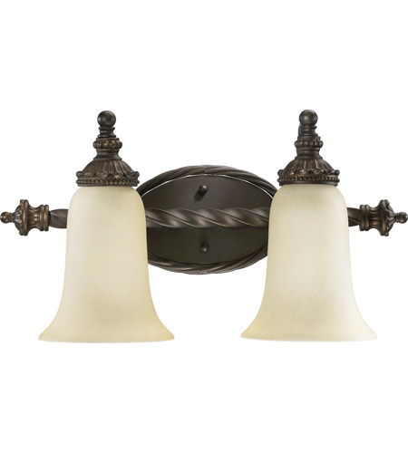 Quorum 5386-2-86 Alameda 2 Light 19 inch Oiled Bronze Vanity Light Wall Light photo