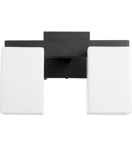 Quorum 5476-2-69 Modus 2 Light 12 inch Noir Vanity Light Wall Light photo